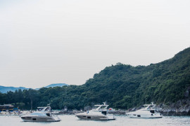 Azimut Summer Show in Marina Cove & owners cruise to Po Toi O