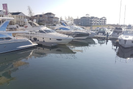 Azimut Yachts week at marina Cape Helius.