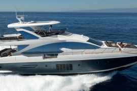 First of two new Azimut 80s on route to Hong Kong