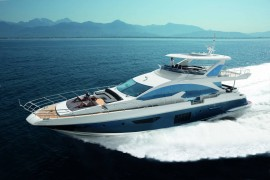 Custom Azimut 80 Entertainment Version Handed Over in Hong Kong