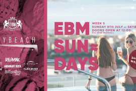 Azimut Yachts Malta partners with EBM Sundays at SKYBEACH
