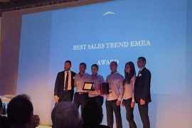 Azimut Yachts Bulgaria awarded with Best sales trend - EMEA.