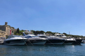 Azimut S7, Azimut 60 Fly, Azimut Atlantis 51 Delivered to Malta