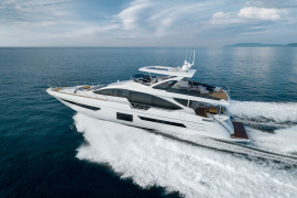 "Azimut Grande 25 Metri Wins The ""Best Of The Best"" Award For Sporty Performance, Cutting-Edge Technology And Elegant Interiors"