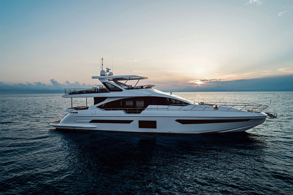 <b>NEW AZIMUT 25M</b> ELEGANCE AND INFORMAL SHARM